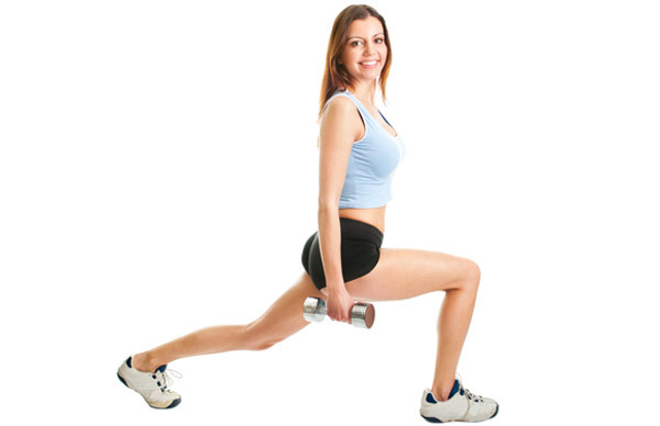 Lunge-Twist for Reducing Belly Fat