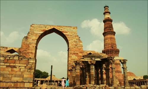 Qutub Minar all