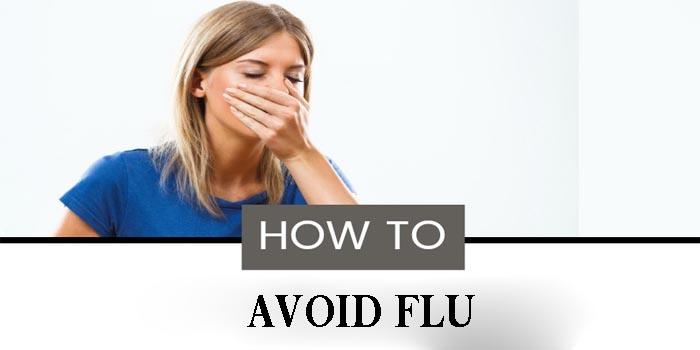 how avoid the flu