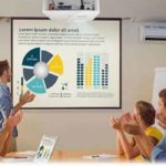 3 Ways How Projector Screens Make Business Presentation Easy
