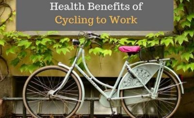 Some Great Health benefits of cycling to work
