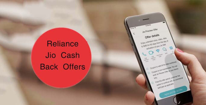BEST CASH BACKS TO AVAIL ON RELIANCE JIO
