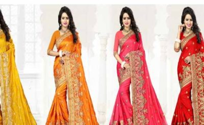 Must have Indian Sarees in your Wedding Trousseau