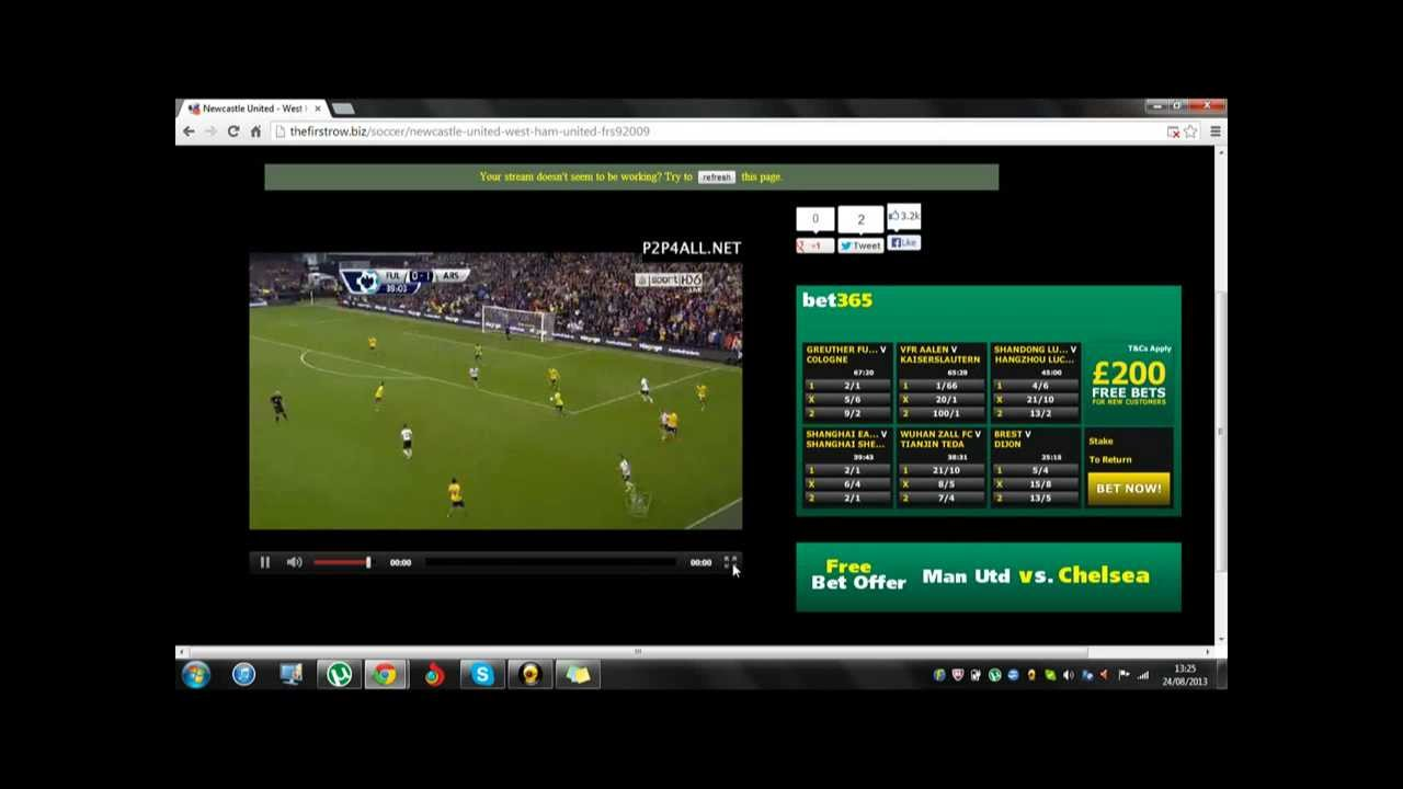 best site to watch sports online for free