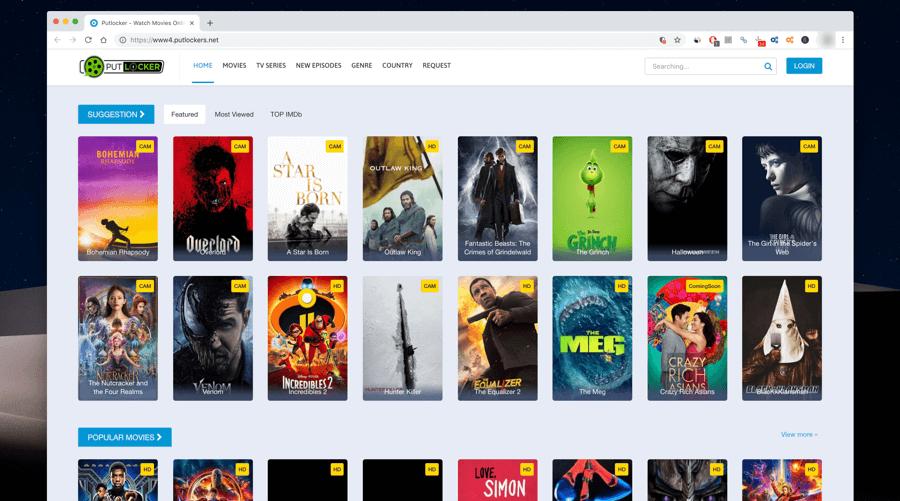 Top 5 Putlocker Alternative Sites to Stream or Download Movies Free Online